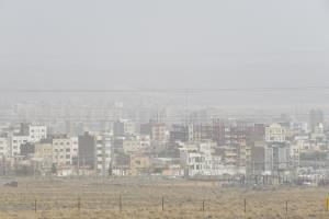 افزایش گردوغبار از پیامدهای کاهش بارندگی در خراسان جنوبی است