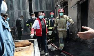 مرگ تلخ 6 کارگر در میان شعله های آتش