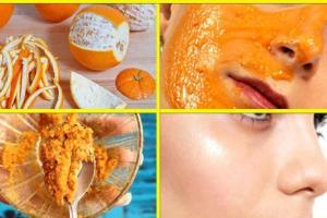 ۶ نوع ماسک پوست پرتقال برای لک صورت و جوانسازی پوست