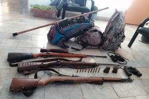 دستگیری شکارچیان غیرمجاز در بردسکن