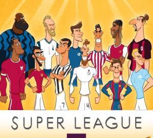 کارتونی در رابطه با ستارههای سوپر لیگ