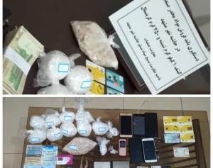 باند فروشندگان مواد مخدر صنعتی در حاشیه شهر مشهد متلاشی شد
