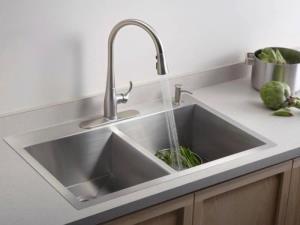 روش تمیز کردن سینک ظرفشویی در جنس های مختلف