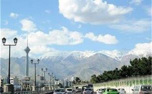 تهرانیها ۲۵ روز هوای سالم تنفس کردند