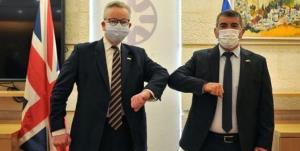 لفاظیهای ضد ایرانی وزیر خارجه رژیم صهیونیستی در دیدار با مقام انگلیسی