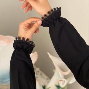 با نیم متر پارچه ساق دست پرنسسی بدوزید