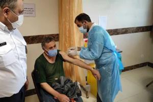 ۹۴ پاکبان مهابادی علیه کرونا واکسینه شدند