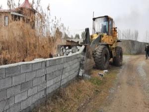 تخریب ساختوسازهای غیرمجاز در آمل