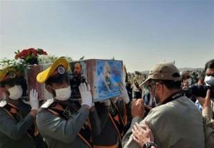پیکر «سردار حجازی» در کنار همرزمانش آرام گرفت