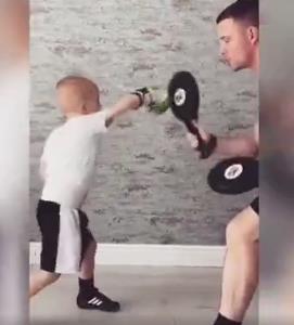 تمرینات دیدنی بوکس کودک 5 ساله