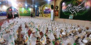 توزیع ۳ هزار بسته معیشتی در مناطق حاشیه شهر مشهد