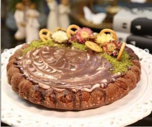 یک کیک شکلاتی خاص و بهشتی!