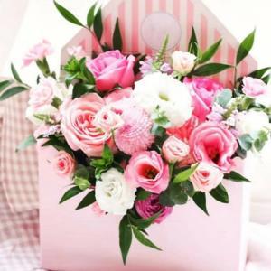 آموزش گل آرایی برای هدیه در خانه