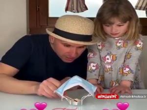 ایده یک بازی جذاب کودکانه با ماسک کرونا