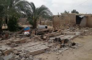 زلزله گناوه به ۴۰۰ خانه خسارت وارد کرد
