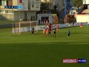 گلزنی یونس دلفی در لیگ کرواسی