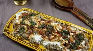 طرز تهیه حلیم بادمجان مجلسی غذای نونی برای افطار