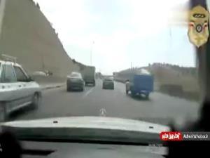 تعقیب و گریز هالیوودی تبهکاران در تهران