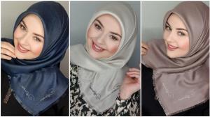 سبک هایی جدید برای بستن شال و روسری