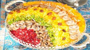 طرز تهیه پلوی آجیلی شیک و خوشمزه