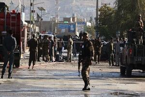 حمله انتحاری و انفجار بمب در کابل