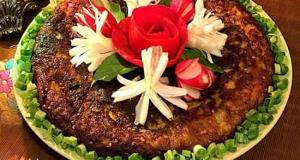 کوکویی کاملا تُرد و با طعمی رویایی ویژه افطار ماه مبارک رمضان