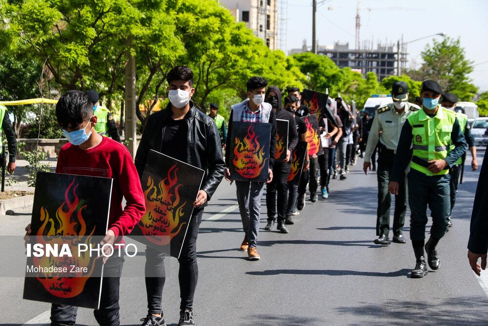 عکس/ تنبیه متهمان حوادث چهارشنبه آخر سال