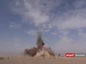 فیلمی حیرت انگیز از پهپادهای پیشرفته و انتحاری سپاه