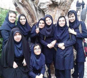 سبک زندگی برای انس دختران نوجوان با حجاب