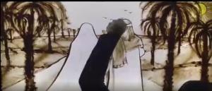 روایت ام المومنین حضرت خدیجه(س) با نقاشی شنی فاطمه عبادی