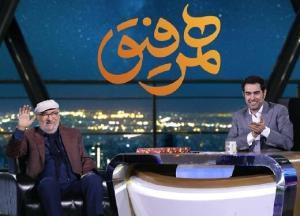 خاطره جالب شهاب حسینی از اولین  بازی در مقابل داریوش ارجمند