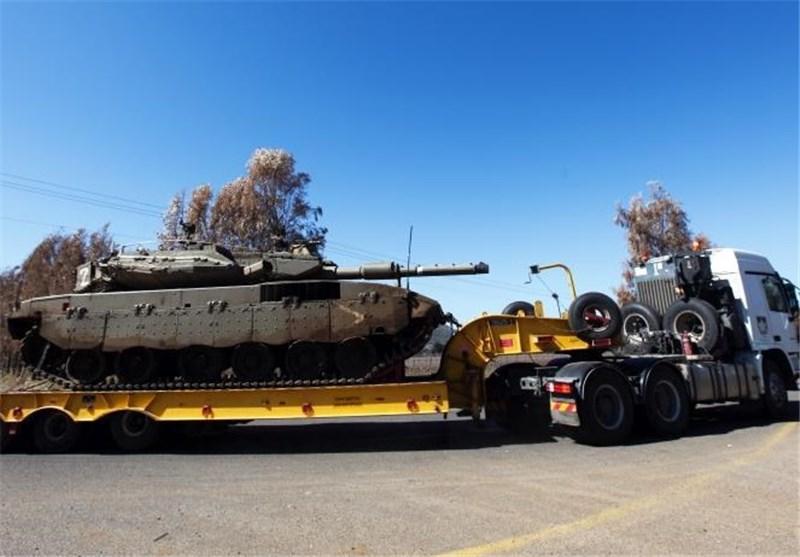 حادثه نظامی دیگر در فلسطین اشغالی؛ کامیون حمل تانک واژگون شد