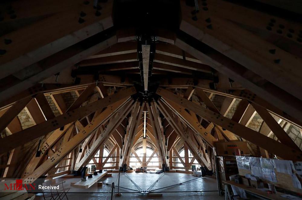 بازسازی کلیسای نوتردام پاریس