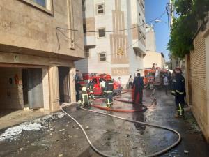 یک خانه در شیراز منفجر شد