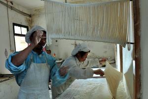 کارگاه ۳۵۰ ساله ماکارونی سازی سنتی