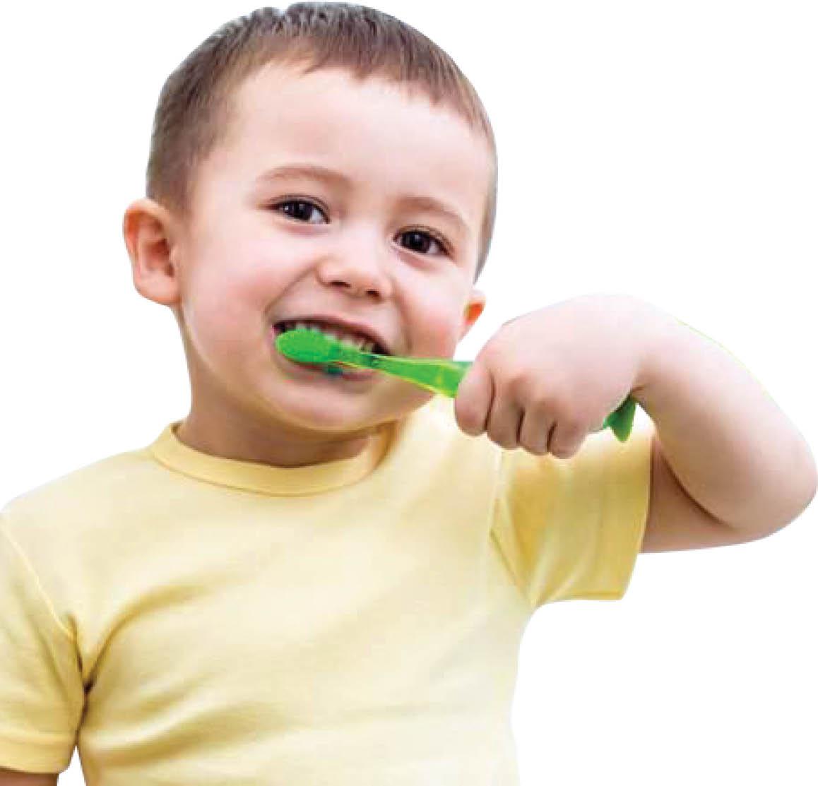 چگونه کودکان را به مسواک زدن عادت دهیم؟