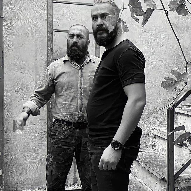 برادران ساقی در نمایی از قسمت سیزدهم سریال «سیاوش»