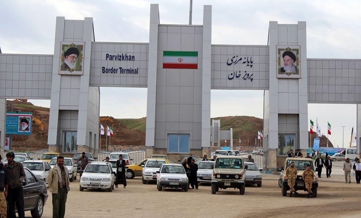 منع تردد از مرزهای قصرشیرین به عراق تمدید شد