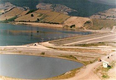 کاهش حجم آب سدهای مخزنی بزرگ گلستان