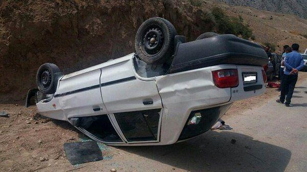 یک کشته بر اثر سانحه رانندگی در کرمانشاه