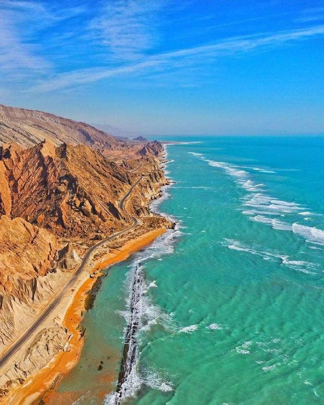 سواحل افسانهای بندر مقام در خلیج فارس