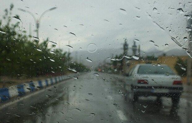 باد و باران در مازندران