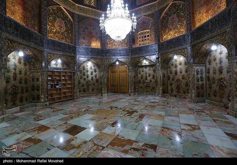 عکس/ مقبره شاه عباس صفوی در قم