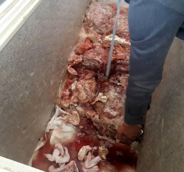 کشف و ضبط ۲۰۰ کیلوگرم گوشت چرخ کرده فاسد از یک رستوران بین راهی در نیشابور