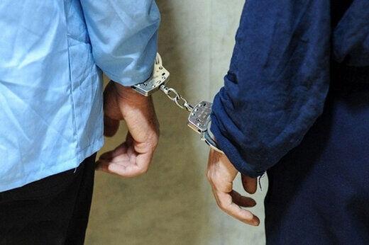 پلیس شهرستان خرمدره سارقان سیم برق شبکه هوایی را دستگیر کرد