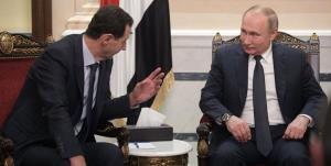 اسد پوتین را در جریان آمادگیها برای انتخابات سوریه قرار داد