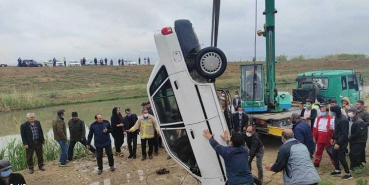 سقوط خودرو به کانال آب در اصلاندوز؛ راننده غرق شد