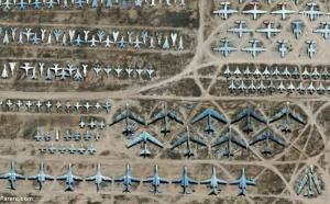 قبرستان هواپیماها در اوکراین