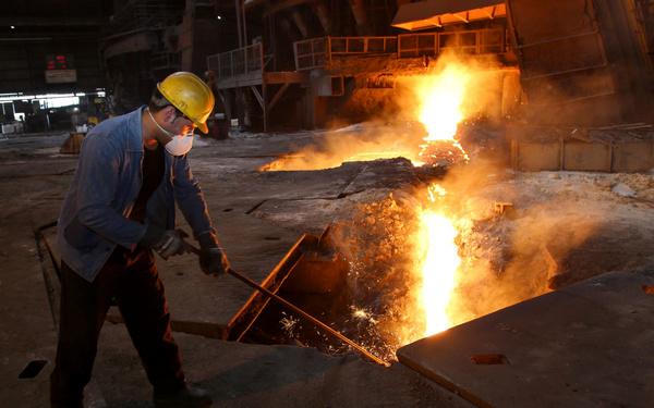 کارخانه «ذوب روی ایجرود» فعالیت خود را از سر گرفت