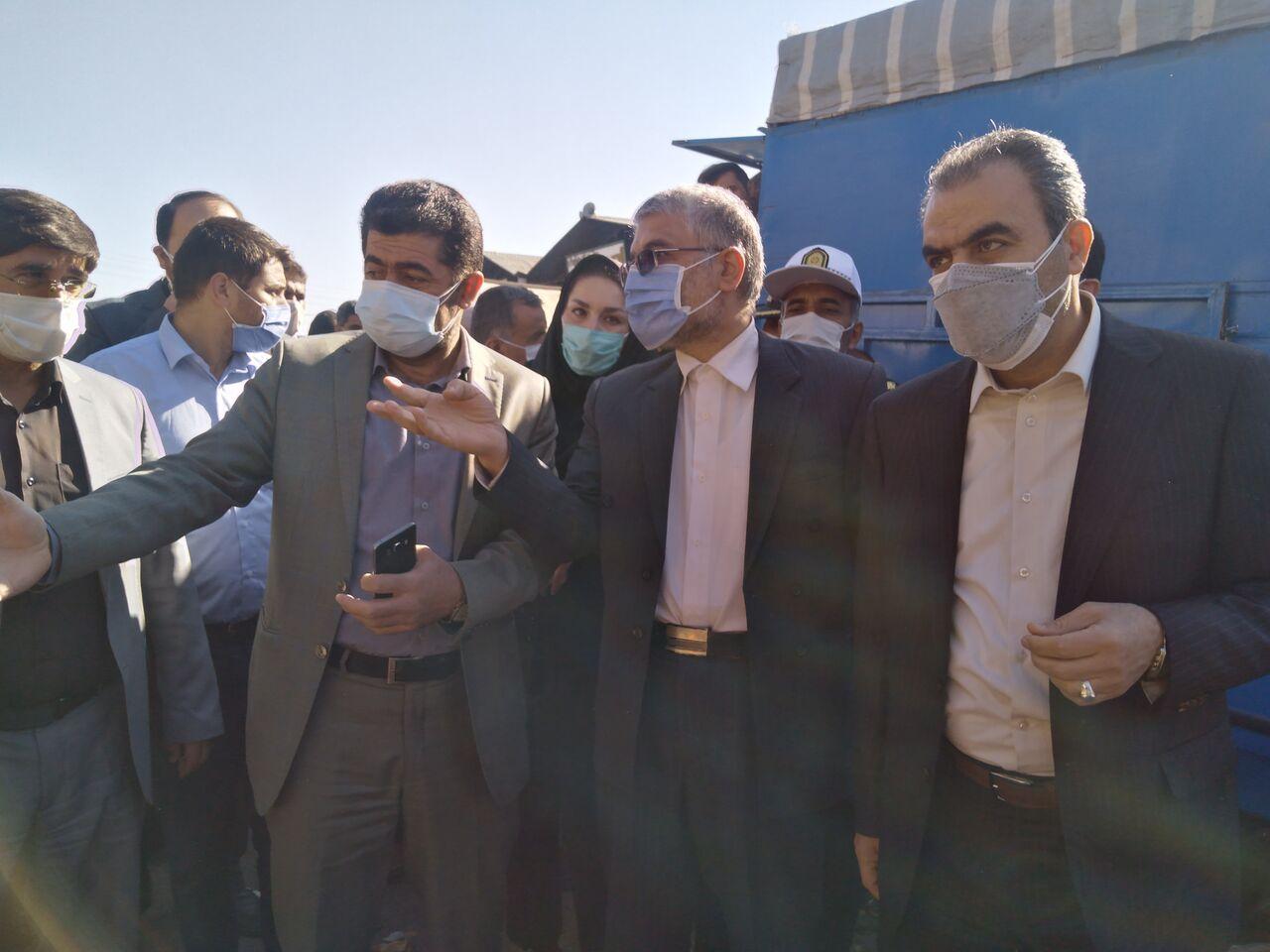 انتقاد دادستان همدان از بینظمی و هرجومرج میدان میوه و ترهبار همدان